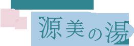 日本四大美人の湯 源美の湯